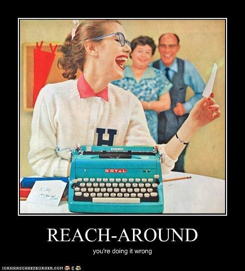 REACH-AROUND