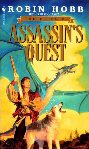 WTF Sc-Fi Book Covers: Assassin's Quest