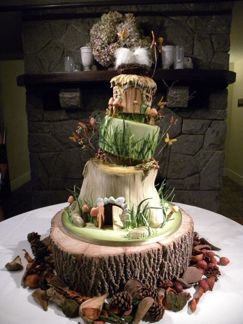 Hobbit Wedding Cake