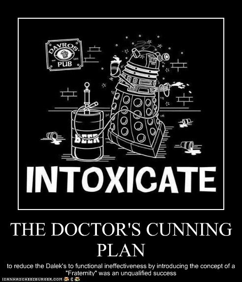 THE DOCTOR'S CUNNING PLAN