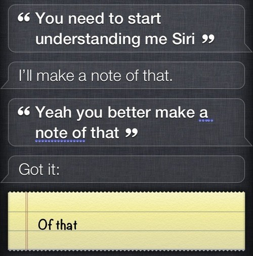 siri,note,literal,sassy,of that,g rated,AutocoWrecks