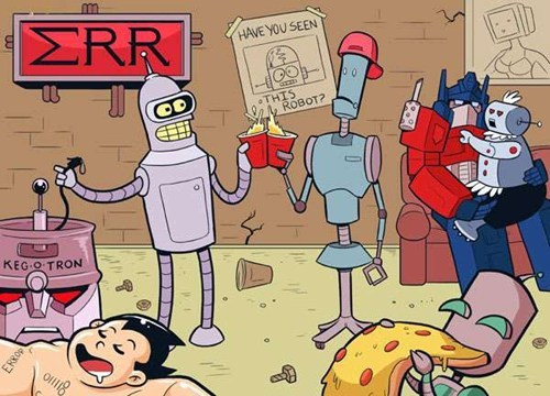Partybots Came to Party