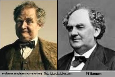 Professor Slughorn (Harry Potter) Totally Looks Like PT Barnum