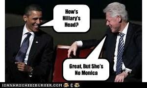 How's Hillary's Head?