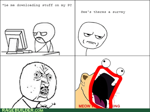 Le survey rage