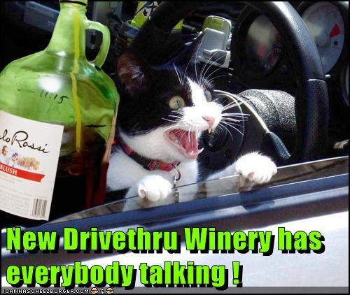 New Drivethru Winery has everybody talking !