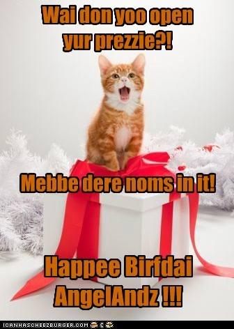 Happee Birfdai AngelAndz !!!