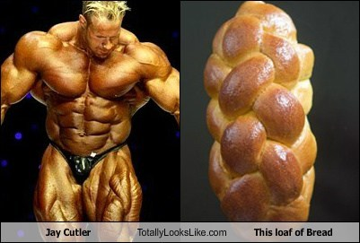 jay cutler,loaf of bread,TLL,loaf,muscles,egg bread