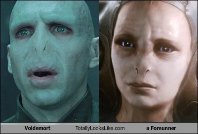 Voldemort Totally Looks Like a Foreunner