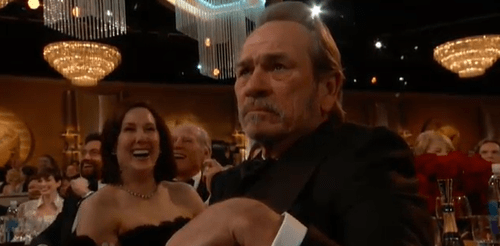 Tommy Lee Jones is Not Amused By Your Monkeyshines, Will Ferrell