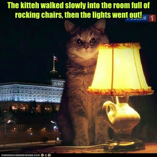 scary,cat,lamp,story,funny