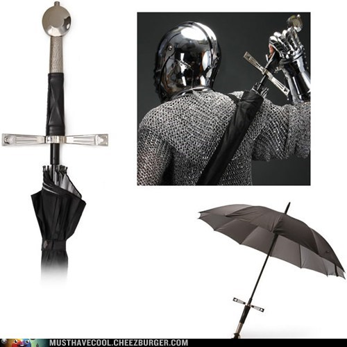handles,broadswords,umbrellas