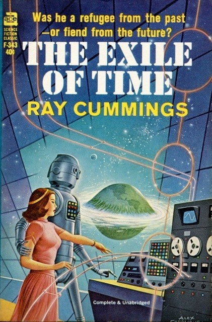 WTF Sci-Fi Book Covers: The Exile of Time
