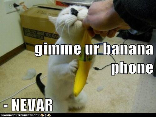 gimme ur banana phone - NEVAR