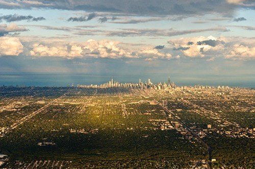 Chicago From a Distance