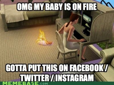 The Sims are Just Like Us!