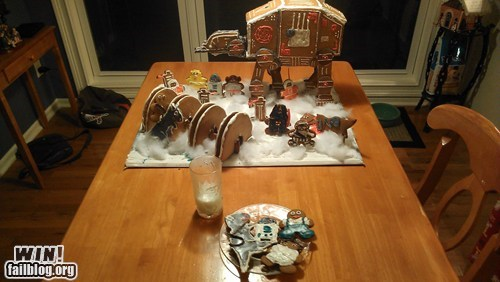 Gingerbread Hoth WIN