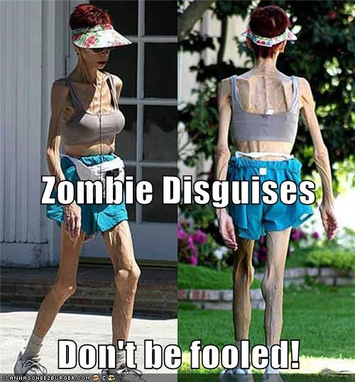 Zombie Disguises Don't be fooled!