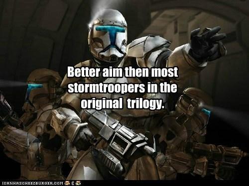 trilogy,star wars,aim,the clone wars,stormtrooper
