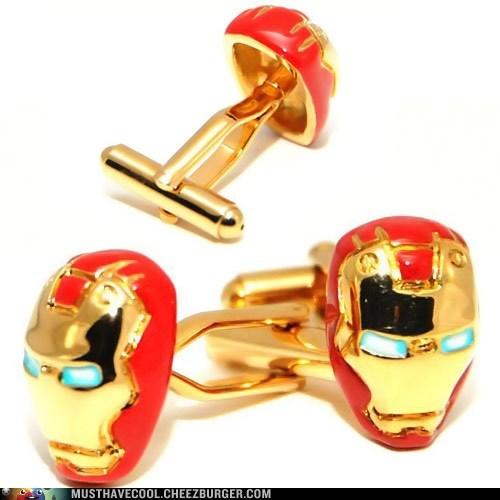 fashion,cufflinks,iron man