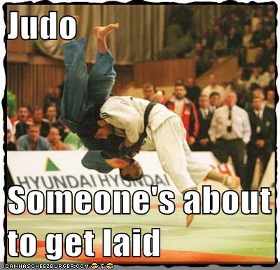 Judo  Someone's about to get laid