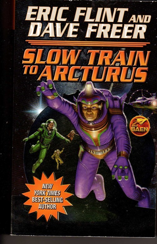 WTF Sci-Fi Book Covers: Slow Train to Arcturus