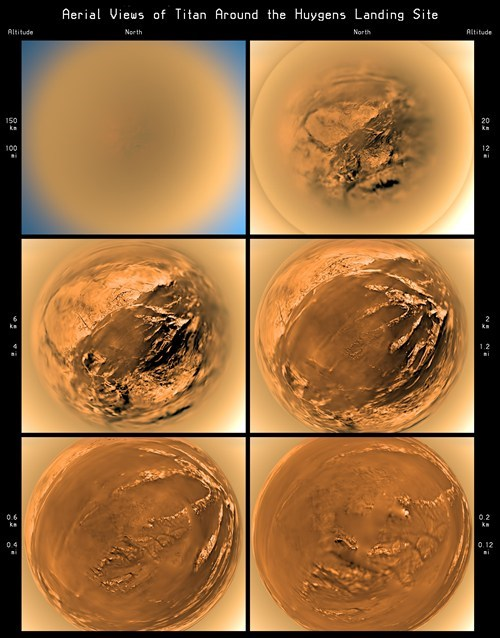 Space Shot of the Day: The Huygens Landing on Titan
