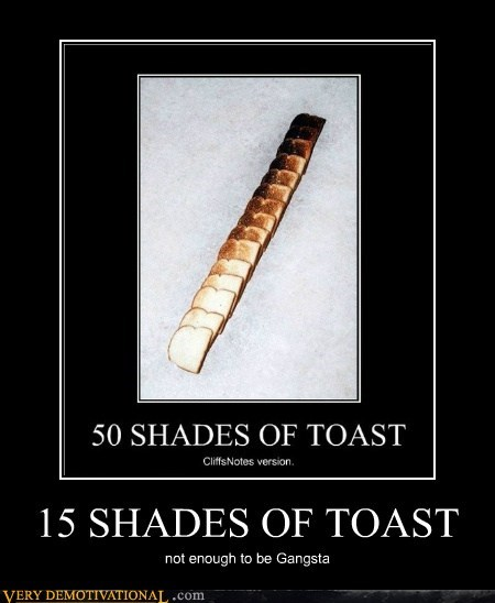 15 SHADES OF TOAST