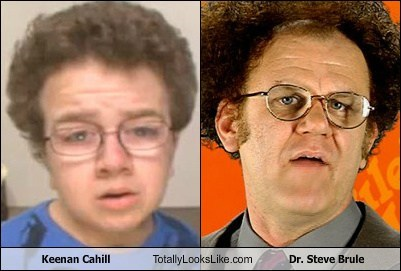 Keenan Cahill Totally Looks Like Dr. Steve Brule