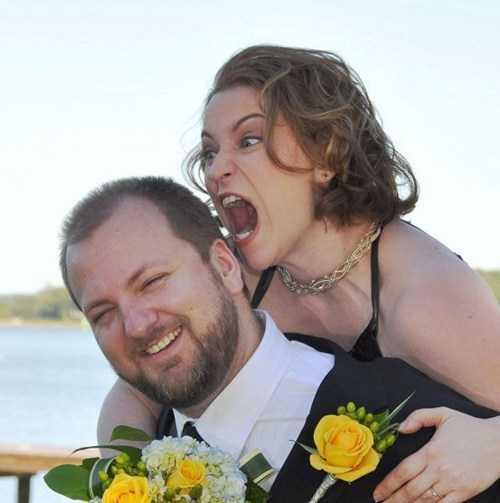 Bride Wants BRAAAAIIIIIIINNNNNNNS