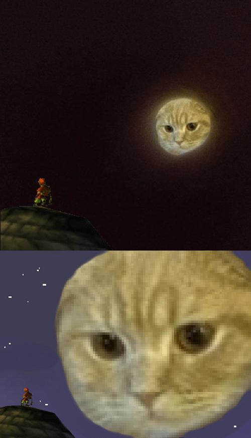 moon cat,majoras mask,zelda