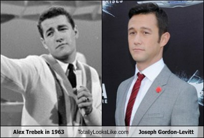 Alex Trebek in 1963 Totally Looks Like Joseph Gordon-Levitt