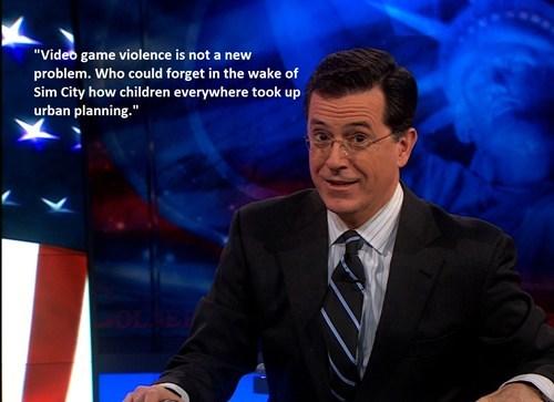 Colbert Understands