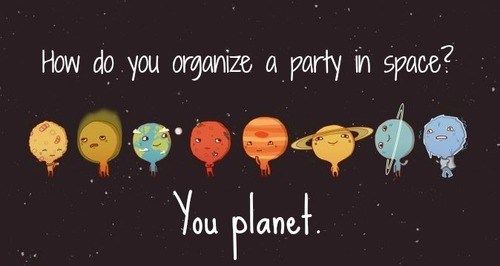 plan,Party,homophones,space,planet