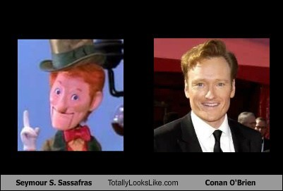 seymour s sassafras,Movie,TLL,here comes peter cottontail,conan obrien