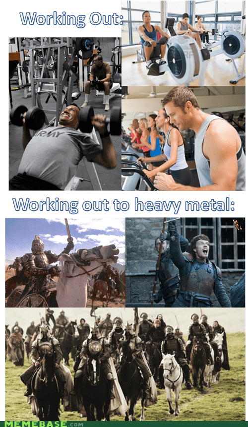 Heavy metal, it makes a difference