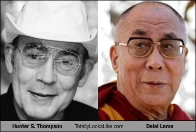 Dalai Lama,Hunter S Thompson,TLL