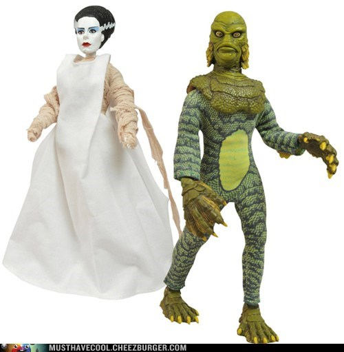 Universal Monsters Series 3 Retro Cloth Action Figures