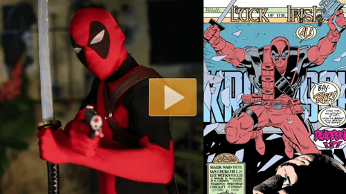 cosplay,deadpool,laser tag,college humor,costume