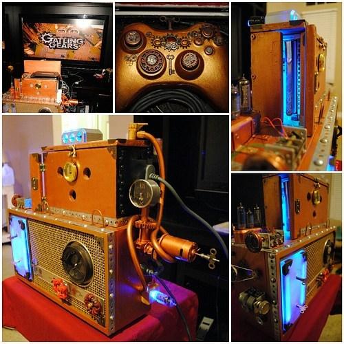 Steampunk Xbox 360