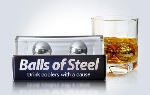 Cool Your Drink and Fight Testicular Cancer All at Once!