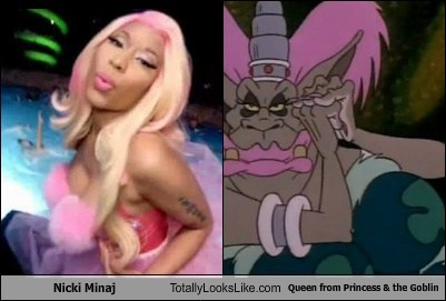 Nicki Minaj  Totally Looks Like Queen from Princess & the Goblin