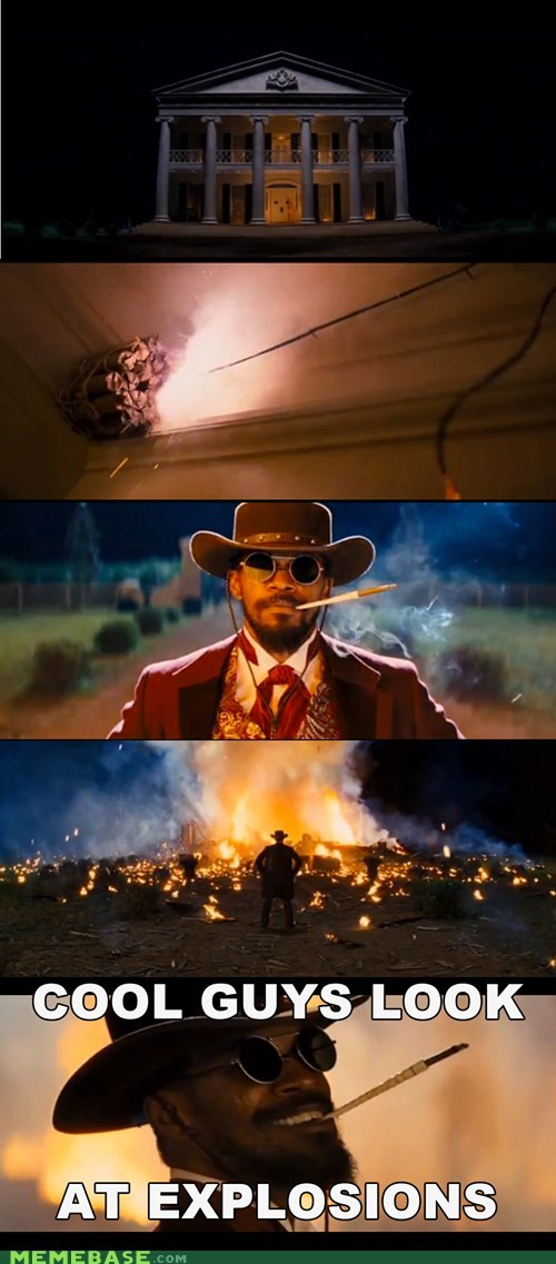 explosion,Movie,django unchained