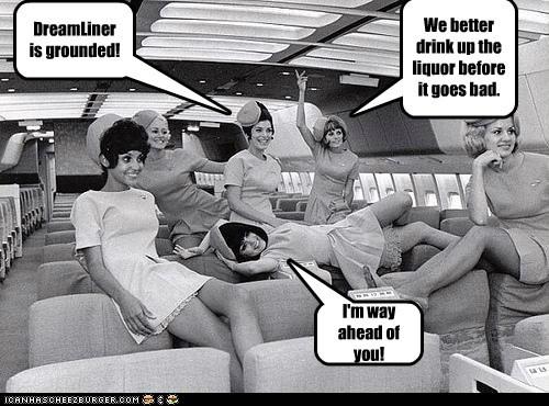 flight attendants,booze,dreamliner,boeing,liquor,grounded