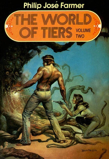WTF Sci-Fi Book Covers: The World of Tiers Volume Two