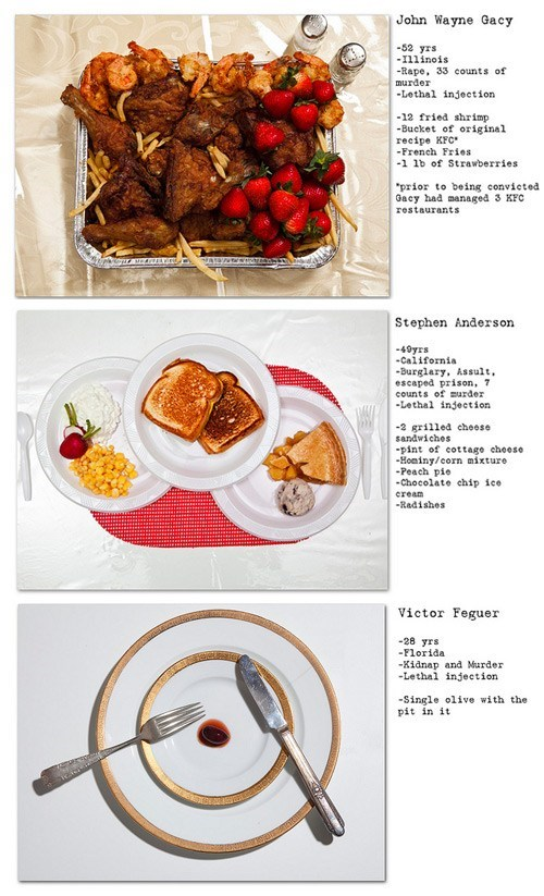 Project of the Day: The Last Meals of Death Row Inmates
