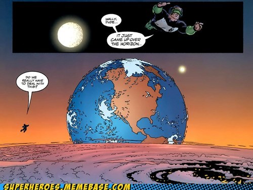 No, Green Lantern, I'm Sure Someone Else Can Deal With It