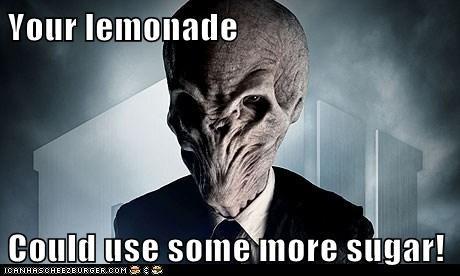 lemonade,sugar,doctor who,sour,the silence