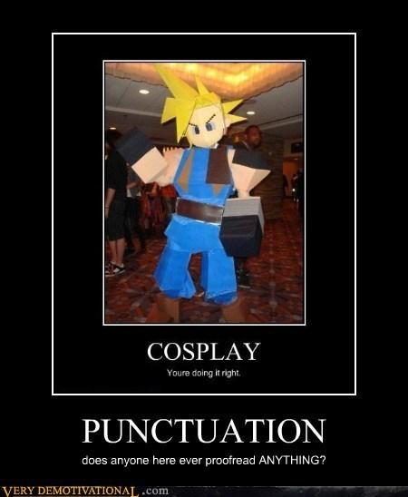 cosplay,grammar,punctuation,cloud