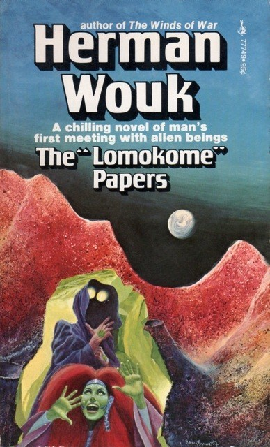 "WTF Sc-Fi Book Covers: The ""Lomokome"" Papers"